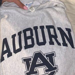 Champion over sized auburn sweatshirt